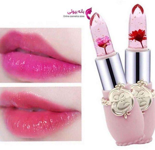 بالم لب حرارتی گلدار
