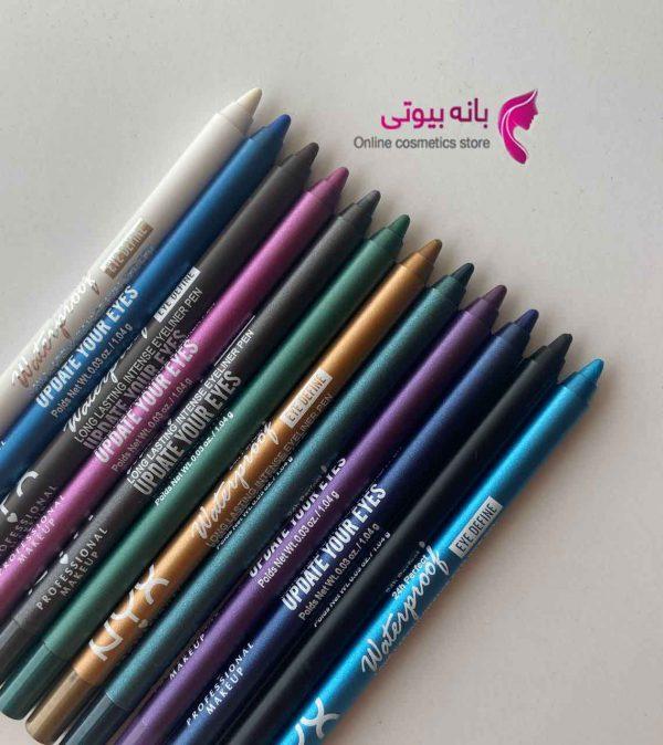 مداد شمعی رنگی nyx