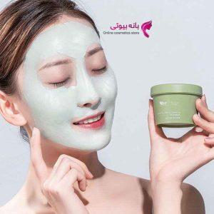 ماسک گلی چای سبز
